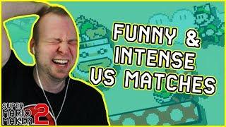 VS Mode: Intense and Hilarious Matches [Super Mario Maker 2]