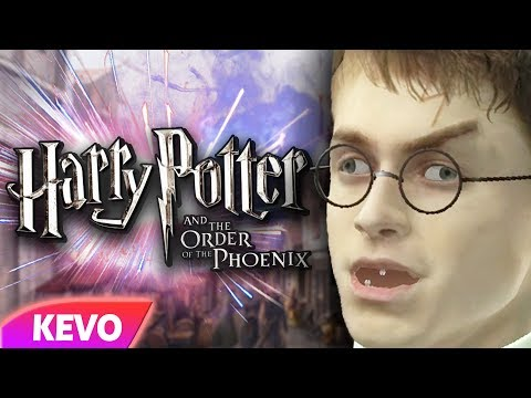 Order of the Phoenix but Harry is a maniac