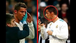 ATTACK_ CRISTIANO RONALDO FACE INJURY WITH BLOOD LEAKAGE