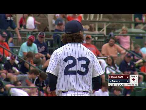 Auburn Baseball vs Texas A&M Game 3 Highlights