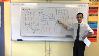 Finding the Inverse of a 3x3 Matrix