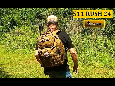 f8a5a4b18210 511 RUSH 24 Back Pack Review - YouTube