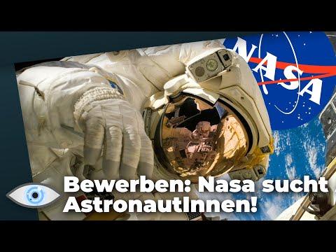 Riesen Chance: NASA sucht neue AstronautInnen! Geht es zum Mond oder Mars?