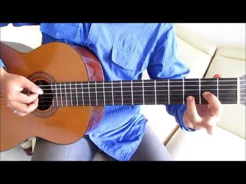 Belajar Kunci Gitar Peterpan Sally Sendiri Intro