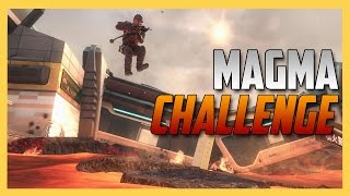 THE MAGMA KNIFE CHALLENGE!