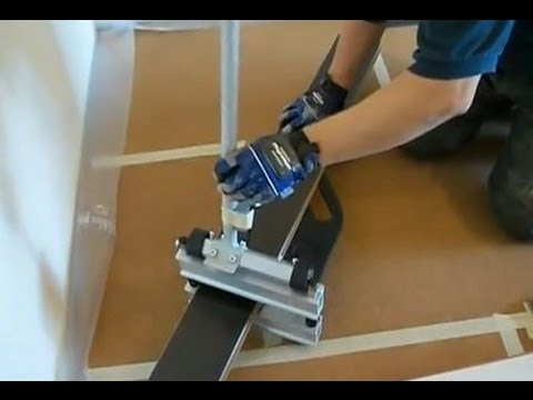 How to Cut Laminate Flooring When You Are Installing