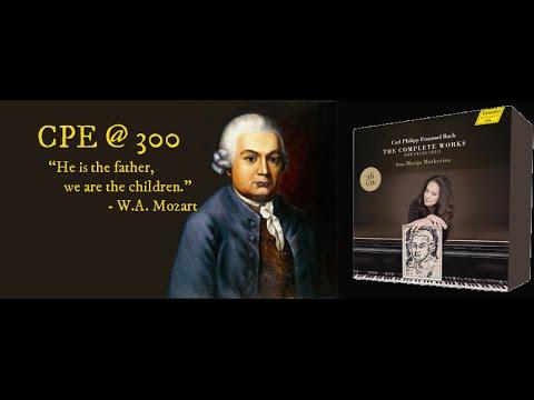 CPE Bach: Sonate Wq 62,8 (Ana-Marija Markovina)