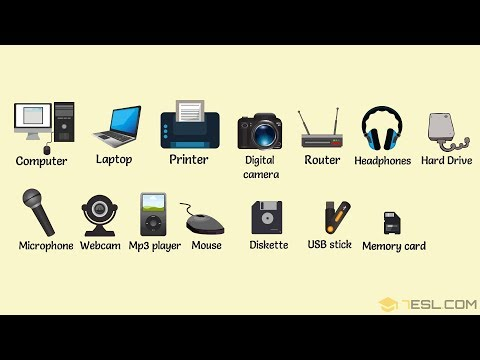 Technological Gadgets Vocabulary | Learn Technology Vocabulary in English