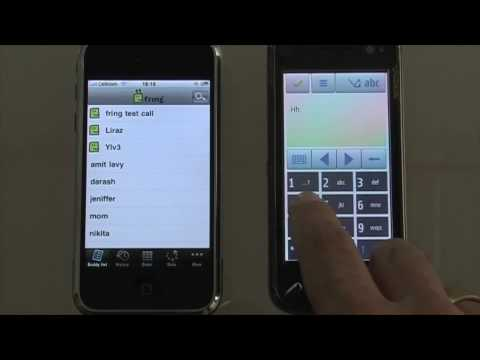 fring on iPhone 3 0 and Nokia N97