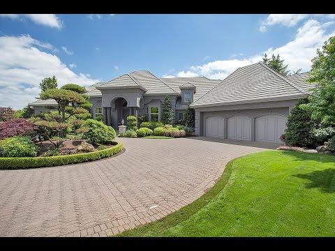 Exquisite Custom Home in West Linn   Oregon Luxury Homes