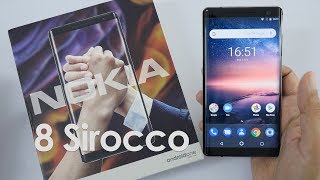 Nokia 8 Sirocco Review Videos