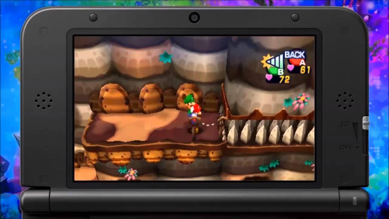 Mario Luigi Dream Team 3ds Rom Download Youtube