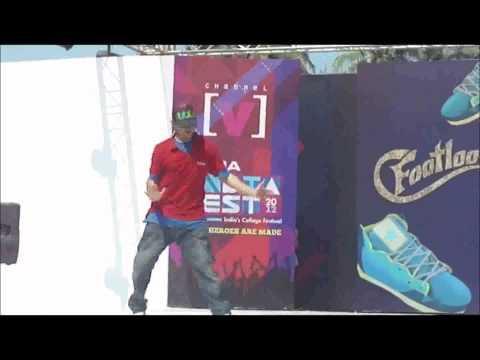 TUSHAR KAPOOR WINNING PERFORMANCE IN CHANNEL [V] FOOTLOSE..........