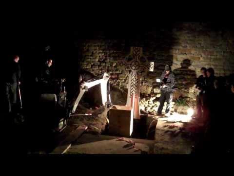 Ian Lawman Buried Alive at Dudley Castle 1st April 2011