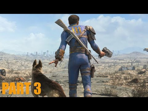 Fallout 4 lets play part 3 helping the Brotherhood Of Steel and killing lots of Synths