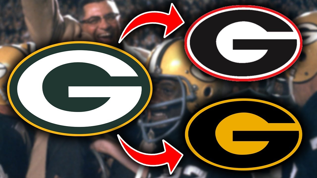 The Real Reason The Packers Logo Was Ripped Off By The Georgia Bulldogs And Grambling State Youtube