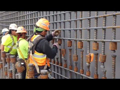 Incredible Modern Construction Equipment Machines Technology. Ingenious Extreme Construction Workers