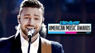 "Justin Timberlake ""Drink You Away"" Country Performance at American Music Awards 2013!"