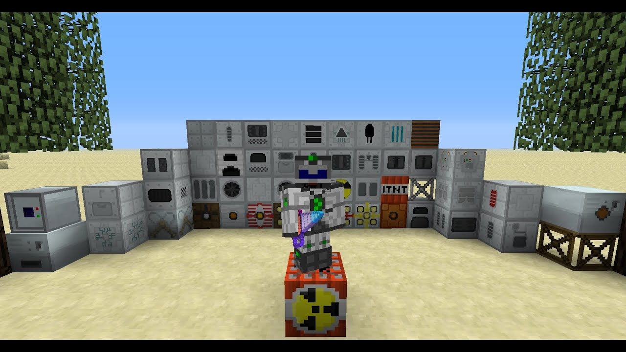 Minecraft 1.6.4 с модами Industrial Craft 2, BuildCraft ...