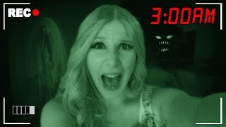 I Got TRAPPED in a HAUNTED House for 24 Hours! - Challenge