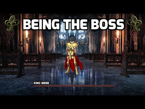 Dark Souls 3: Being The Boss (King Weeb Hardest Boss)