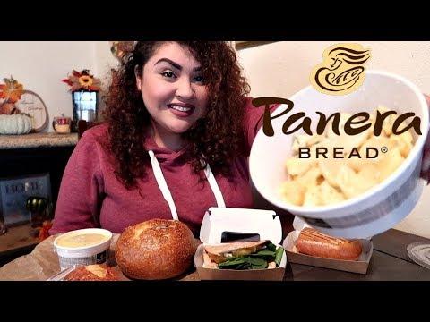 PANERA BREAD MUKBANG 😍 Eating Show😍