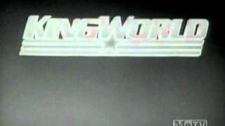 King World Productions B&W logo (1984)