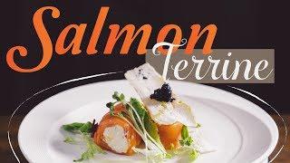 Cách Làm Salmon Terrine Chuẩn Nhà Hàng 5 Sao | Hướng Nghiệp Á Âu
