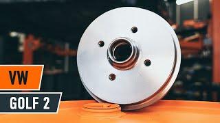 Fikse Bremsetrommel selv videoguide på VW GOLF