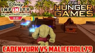 Disney Infinity 2.0 Toy Box The Hunger Games (cadenyurk Vs. Malicedoll79 #6)
