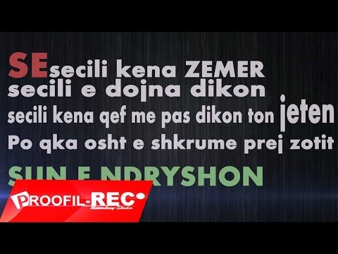 ProOFiL & Durrki ft. Grand Master - Pse (Lyrics Video 2013)