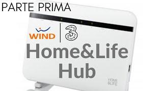 Vi presento il modem di Wind Tre, Home&Life Hub -zyxel 8825- parte prima