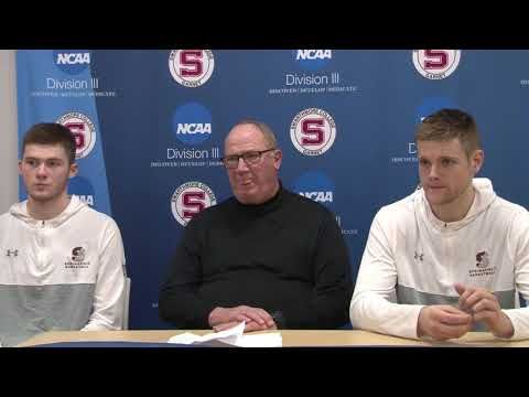 Springfield College Press Conference After Advancing to the Final Four