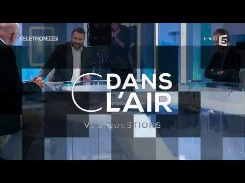 La France avec Johnny - Les questions SMS 09.12.2017 #cdanslair