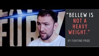 EXCLUSIVE-Hughie Fury reacts to Bellew calling out Tyson.