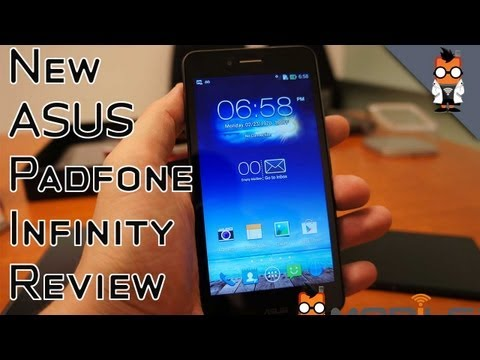 New ASUS PadFone Infinity Review - Snapdragon 800 Android Smartphone