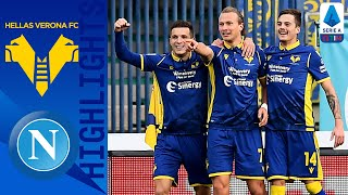 Hellas Verona 3-1 Napoli | Verona come from behind to stun Napoli! | Serie A TIM
