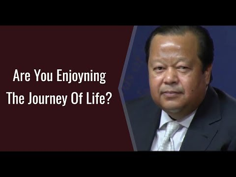 Are You Enjoying The Journey Of Life ? - Prem Rawat