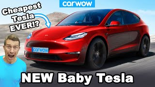 New baby Tesla - it will cost LESS than a VW Golf!