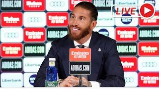 Rueda de Prensa Despedida Sergio Ramos | Real Madrid