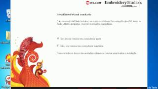 Repeat youtube video Tutorial de Instalação Wilcom Embroidery Studio E2 com Corel X5 - Windows 7 64 bits