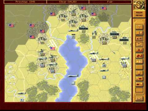 Let's Play - Panzer General - Part 061 - Washington (alternative) - 003 - by MrKritik77