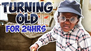 Turning OLD FOR 24 Hours (VERY FUNNY)
