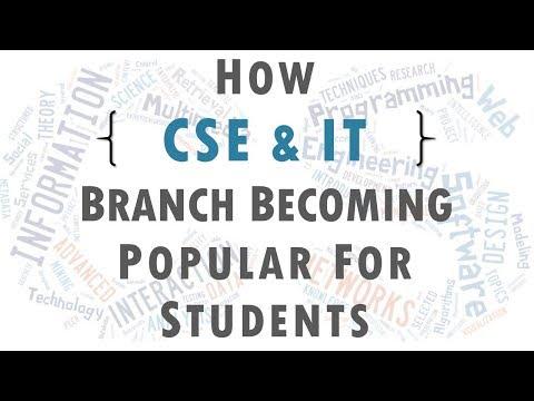 Popularity Of CSE & IT Engineering In Hindi/English
