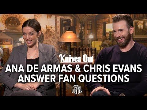 knives-out:-ana-de-armas-&-chris-evans-answer-fan-questions-|-extra-butter-fun-interview