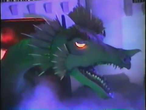 Las Vegas Excalibur : Merlin & The Dragon