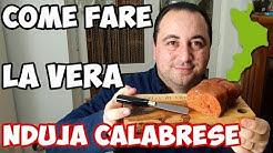 Come fare la 'Nduja Calabrese a Casa - How to Make Calabrian 'Nduja