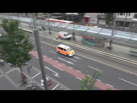 NEF 1 BF Bonn FW 1 - Missglücktes Ausweichmannöver
