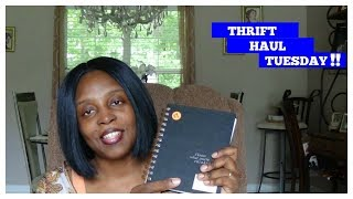 THRIFT HAUL TUESDAY 2018 / HOLIDAY HOME DECOR / GREAT FINDS!!  / Mobellalife TV