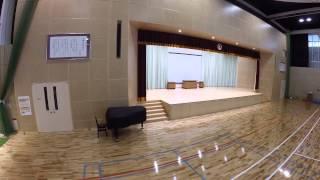 福岡市立舞鶴小中学校 体育館